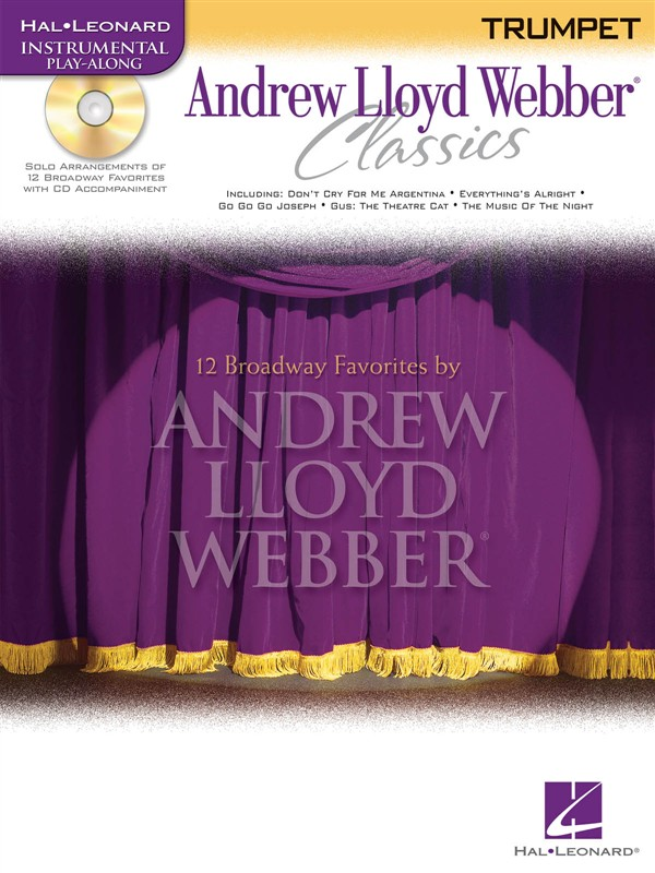 Andrew Lloyd Webber Classics - Trumpet Play-along + Cd - Trumpet