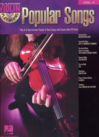Violin Play Along Vol.2 - Popular Songs + Cd - Violon