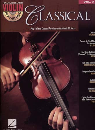 VIOLIN PLAY ALONG VOL.3 - CLASSICAL + CD