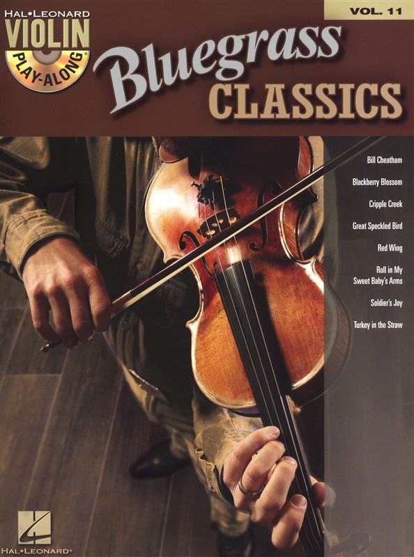VIOLIN PLAY ALONG VOLUME 11 BLUEGRASS CLASSICS + CD - VIOLIN