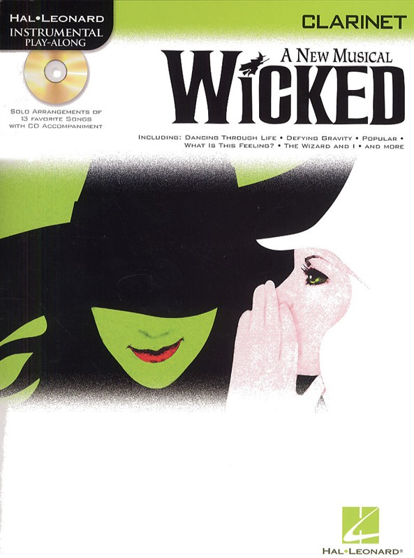 Instrumental Play-along Wicked + Cd - Clarinet