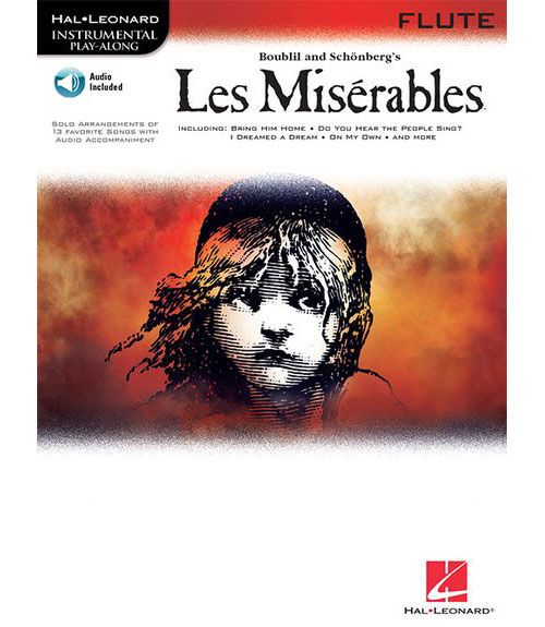 INSTRUMENTAL PLAY ALONG LES MISERABLES FLUTE CD