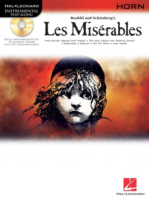 Instrumental Play-along Les Miserables + Cd - Horn