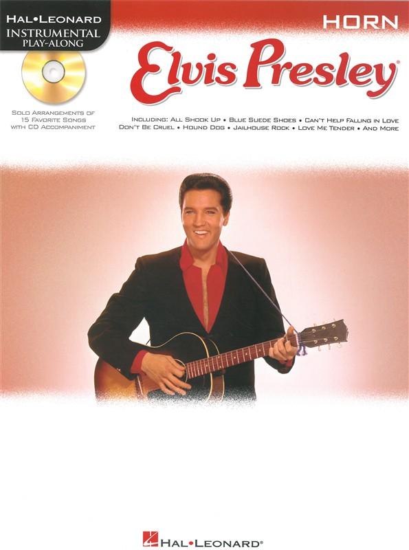 Instrumental Play Along - Elvis Presley + Cd - Horn