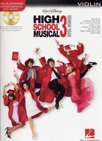 INSTRUMENTAL PLAY ALONG HIGH SCHOOL MUSICAL 3 VIOLIN + CD