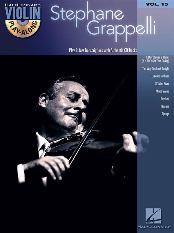 Violin Play Along Volume 15 Stephane Grappelli Violin + Cd - Violin