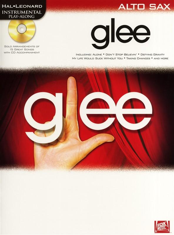 Instrumental Play-along Glee + Cd - Alto Saxophone