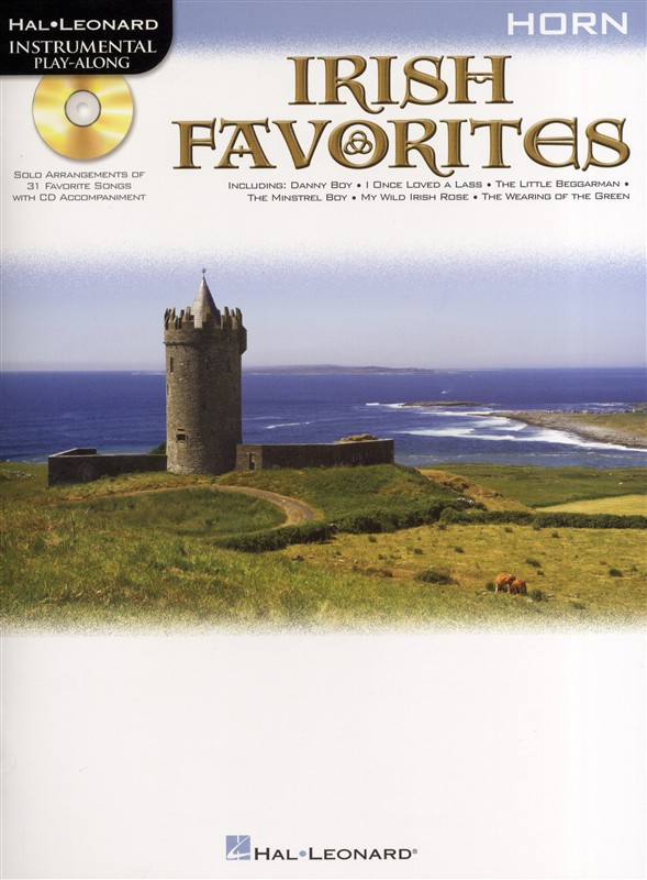 Instrumental Play-along Irish Favorites + Cd - Horn