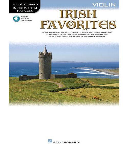 INSTRUMENTAL PLAY-ALONG IRISH FAVORITES VIOLIN + MP3 - VIOLIN