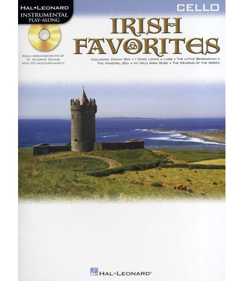 Instrumental Play-along - Irish Favorites + Cd - Cello