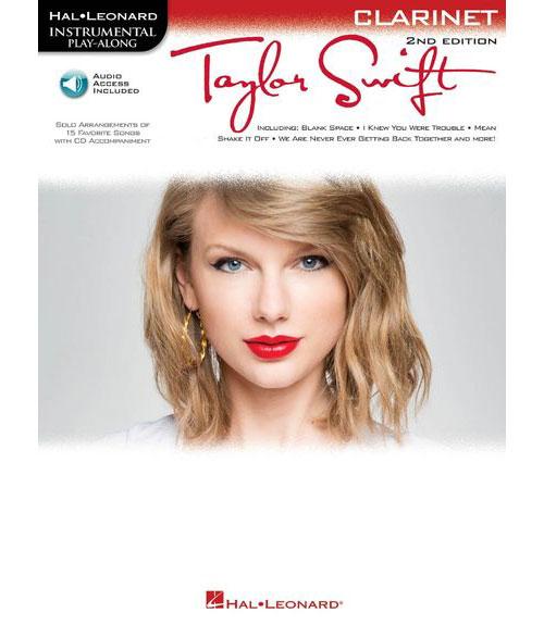 INSTRUMENTAL PLAY ALONG - SWIFT TAYLOR + MP3 - CLARINET