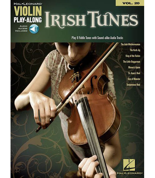 VIOLIN PLAY ALONG VOLUME 20 IRISH TUNES + MP3 - VIOLIN