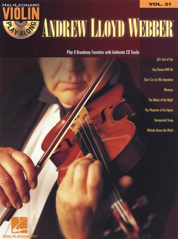 Violin Play Along Volume 21 - Lloyd Webber Andrew + Cd - Violin