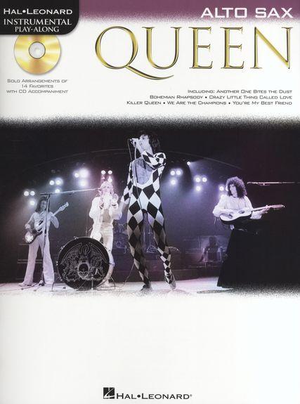 Alto Saxophone Play-along : Queen  + Cd