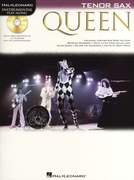 Tenor Saxophone Play-along : Queen  + Cd