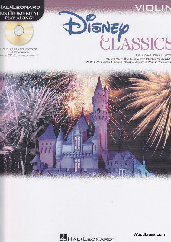 DISNEY CLASSICS FOR VIOLIN + CD