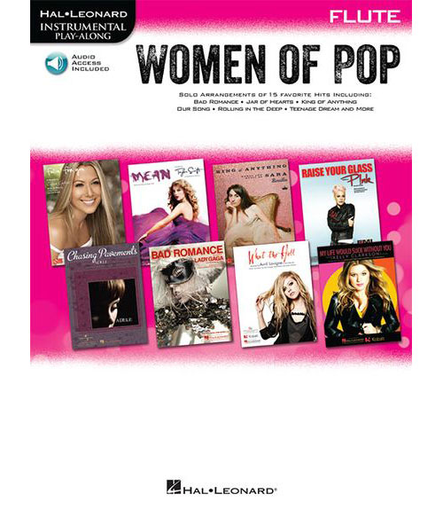 INSTRUMENTAL PLAY-ALONG WOMEN OF POP + MP3 - FLUTE