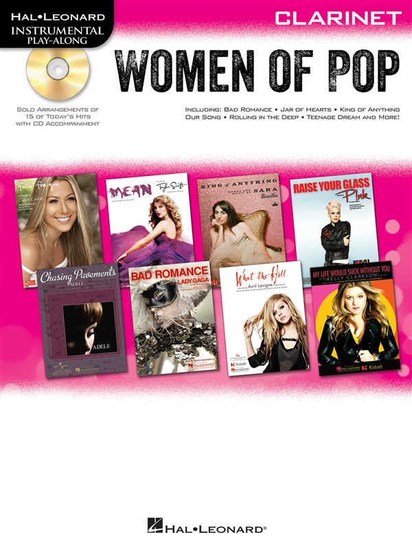 Instrumental Play-along - Women Of Pop + Cd - Clarinet