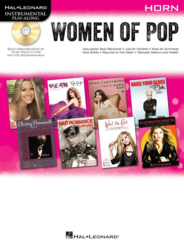 Instrumental Play-along Women Of Pop + Cd - Horn