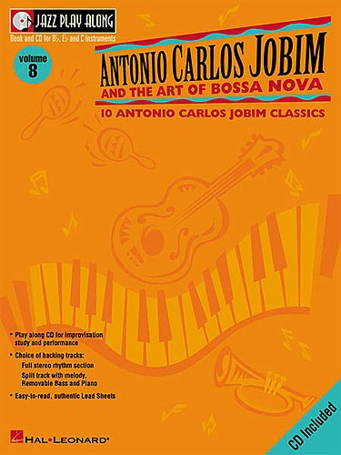 JAZZ PLAY ALONG :ANTONIO CARLOS JOBIM VOL 8 POUR VENTS