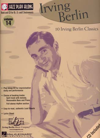 JAZZ PLAY ALONG VOL.14 IRVING BERLIN BB, EB, C INST. CD