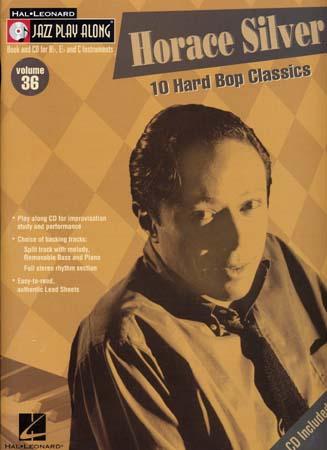 Silver Horace - Jazz Play Along Vol.36 + Cd - Bb, Eb, C Instruments