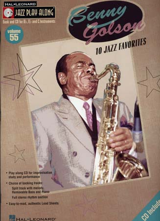 GOLSON BENNY - JAZZ PLAY ALONG VOL.55 + CD - Bb, Eb, C INSTRUMENTS