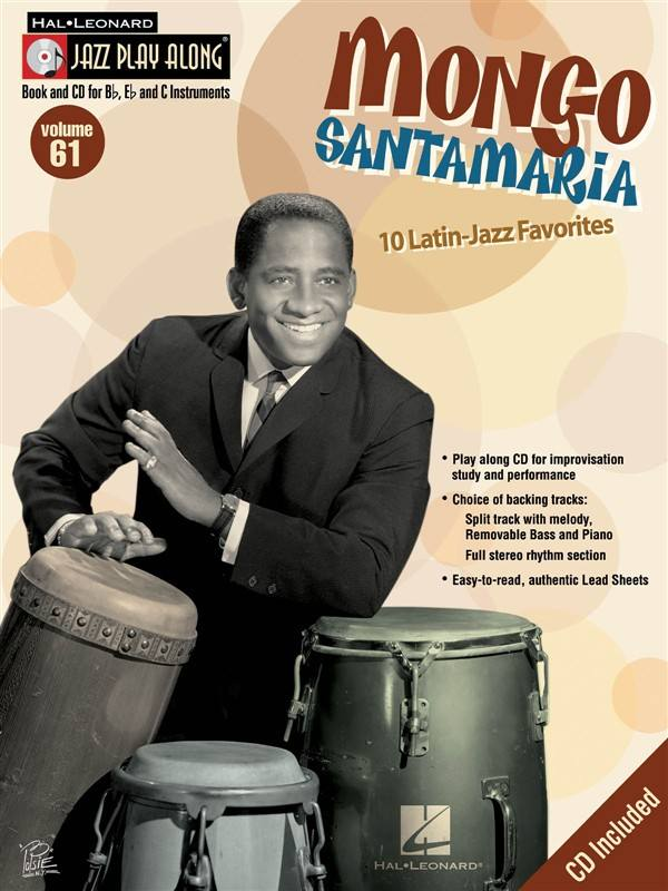 Jazz Play Along Vol.61 Mongo Santamaria Bb, Eb, C Inst. Cd