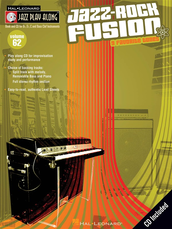 Jazz Play Along Volume 62 - Jazz-rock Fusion Bflatinst + Cd - B Flat Instruments