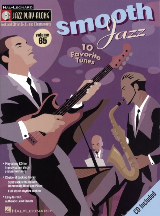 JAZZ PLAY ALONG VOL.65 - SMOOTH JAZZ + CD - Bb, Eb, C INSTRUMENTS