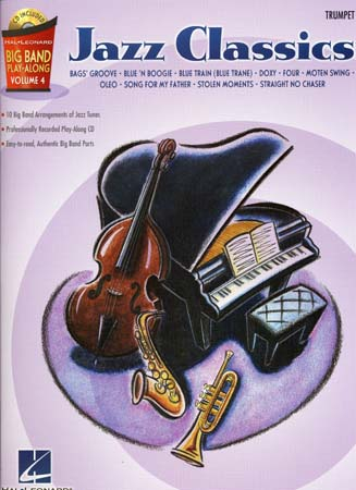 Big Band Play Along Vol.4 Jazz Classics + Cd - Trompette