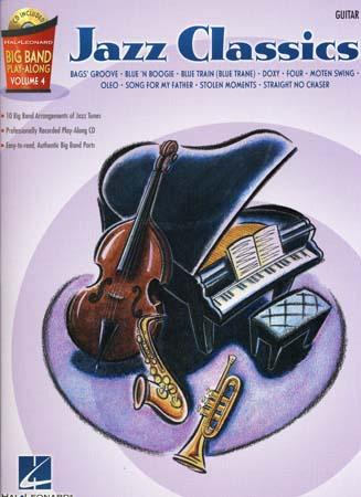 Big Band Play Along Vol.4 Jazz Classics + Cd - Guitare