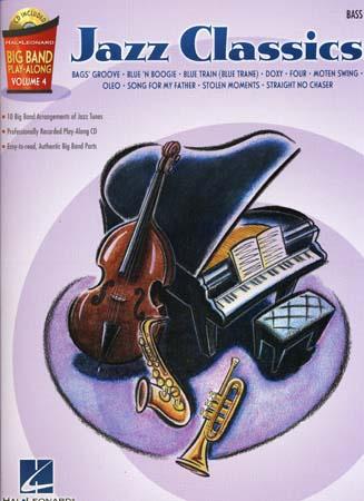 Big Band Play Along Vol.4 Jazz Classics + Cd - Basse