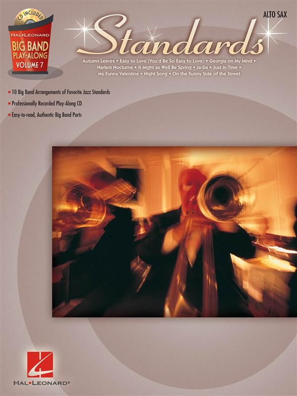 Big Band Play-along Volume 7 - Standards - Alto Saxophone