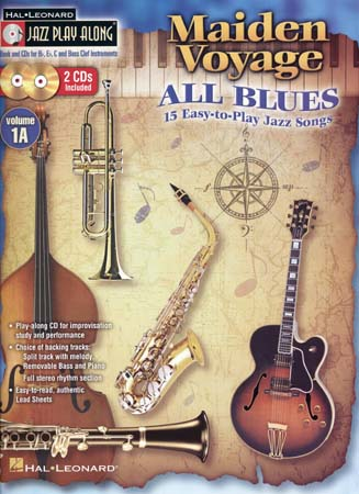 JAZZ PLAY ALONG VOL.1A - MAIDEN VOYAGE ALL BLUES + CD - Bb, Eb, C INSTRUMENT