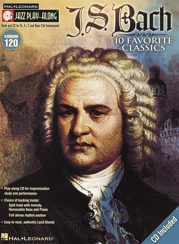 Jazz Play-along Volume 120 - J S Bach + Cd - C Instruments