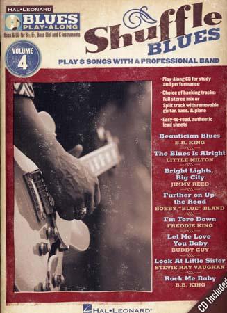 Blues Play Along Vol.4 - Shuffle Blues + Cd - Guitare<br />