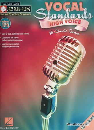 Jazz Play Along Vol.129 Vocal Standards High Voice + Cd
