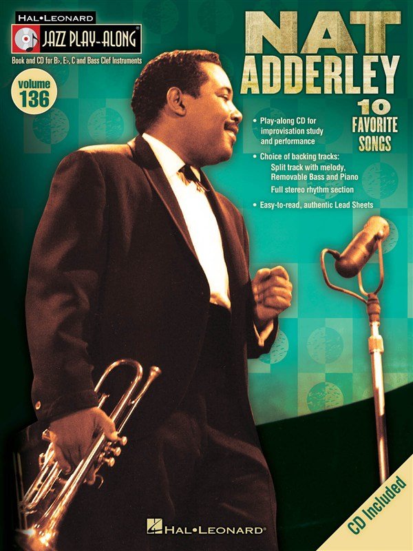 Jazz Play Along Volume 136 Adderley Nat All Inst + Cd - All Instruments
