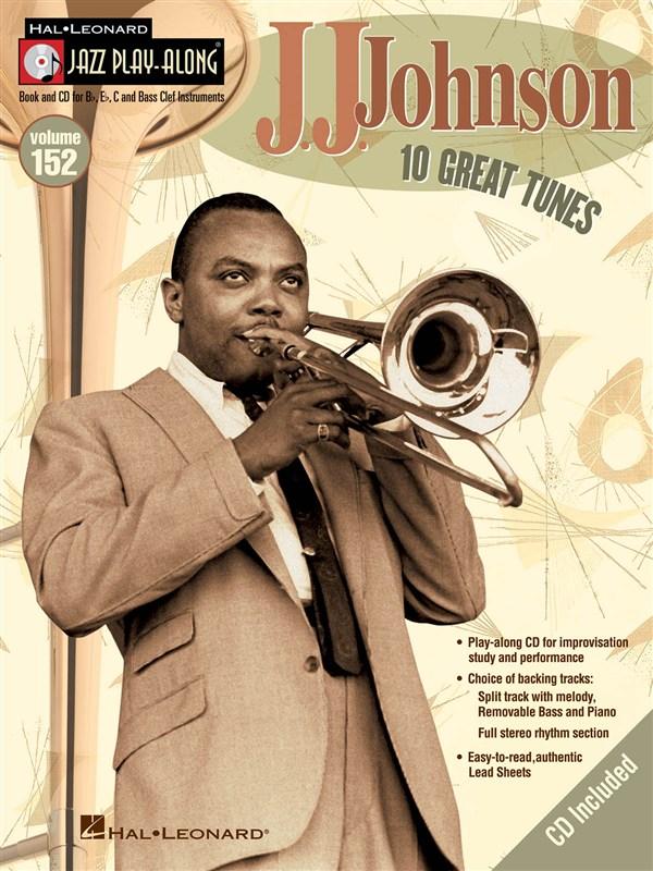 Jazz Play Along Volume 152 - Johnson J.j. All Instruments + Cd - E Flat Instruments
