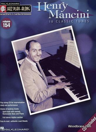 Jazz Play Along Vol.154 Henry Mancini Bb, Eb, C Inst.  + Cd