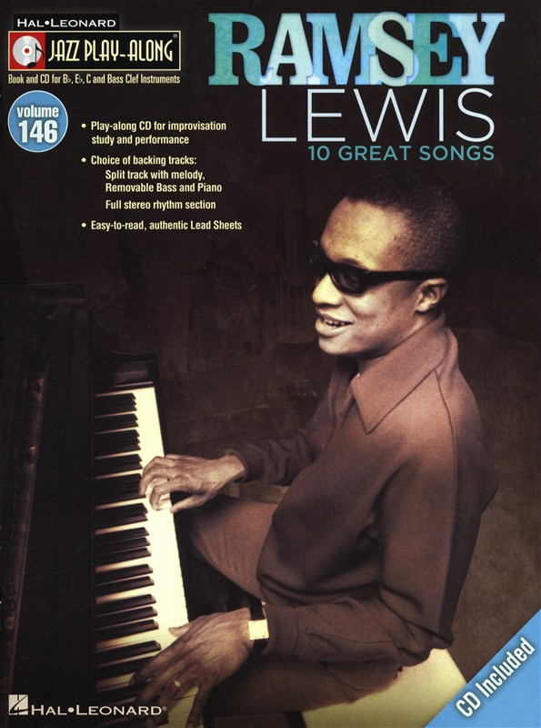 Jazz Play Along Volume 146 - Ramsey Lewis - All Instruments + Cd - B Flat Instruments