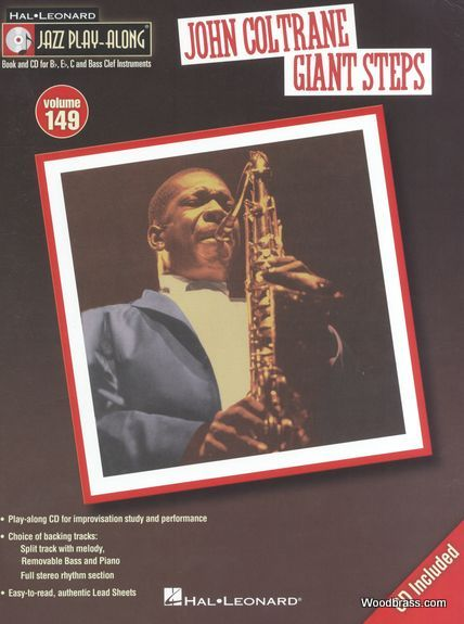 Jazz Play Along Vol.149 John Coltrane - Giant Steps - Bb, Eb, C Inst. Cd