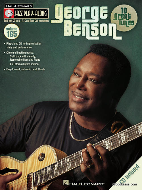 JAZZ PLAY ALONG VOL.165 - GEORGE BENSON + CD