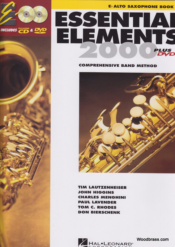 Essential Elements 2000 Livre 1 - Saxophone Alto