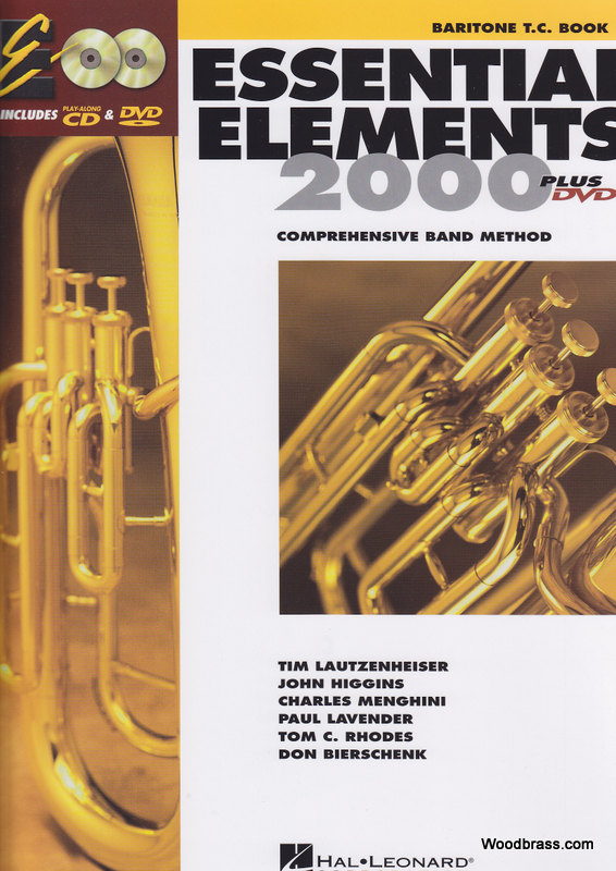 Essential Elements 2000 Livre 1 - Bariton