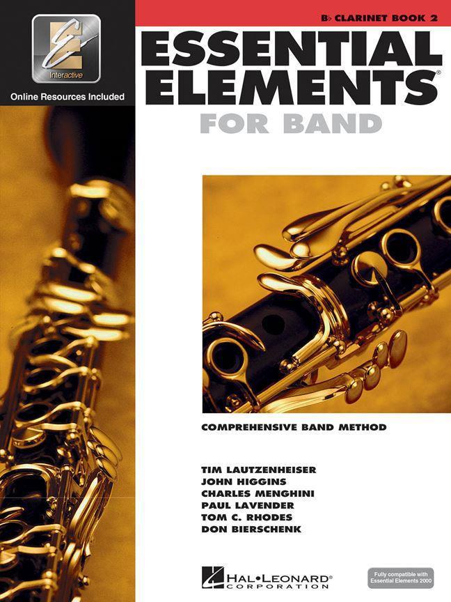Essential Elements 2000 Book 2 - Clarinette