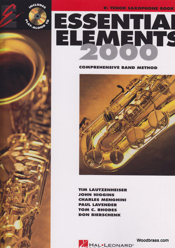 Essential Elements 2000 Livre 2 - Saxophone Bb