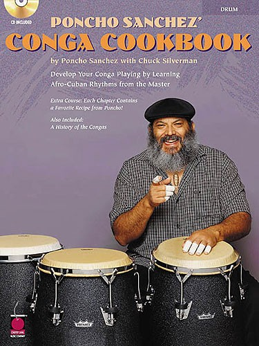 Poncho Sanchez' Congo Cookbook Congos + Cd - Congas