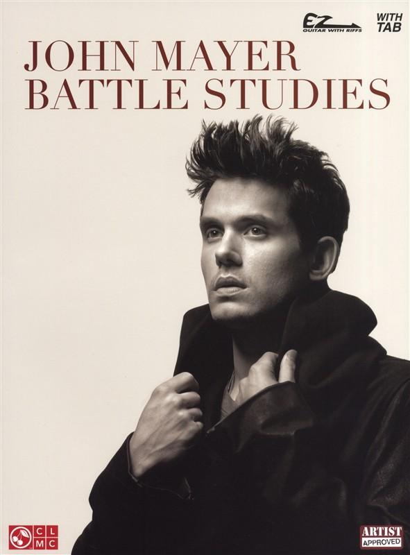 John Mayer Battle Studies Easy Guitar With Notes - Guitar